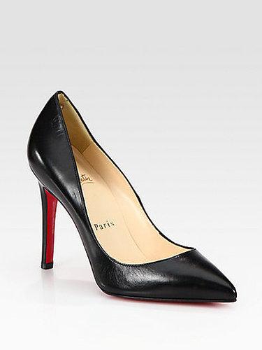 Christian Louboutin Pigalle 100 Leather Pumps