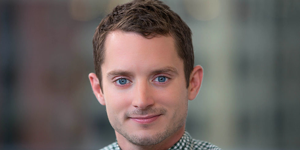 "Video: Elijah Wood Is Pumped to Have Rare ""Job Security"" as an Actor"