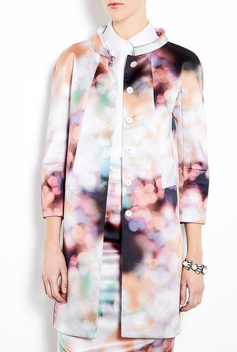 Tara Jarmon By Night Print Coat