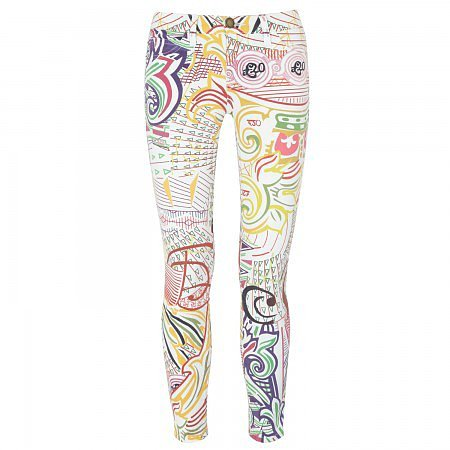 Mary Katrantzou Pound mid-rise printed skinny jeans - Multicoloured