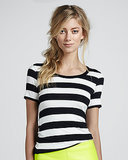 Thick stripes ensure this Bailey 44 tee ($58) won't be mistaken for gym clothes.