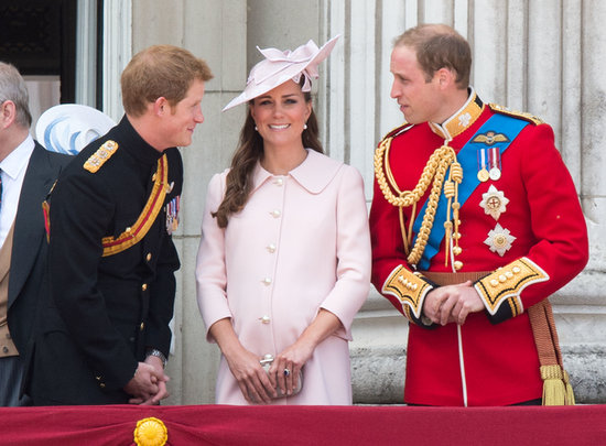 Earlier this month, Kate Middleton and Prince William shared a joke with Prince Harry while standing on the balcony at Buckingham Palace for the Trooping the Colour parade.