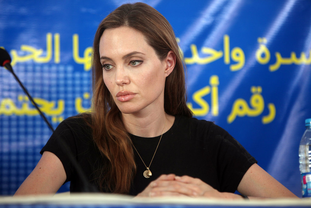Angelina Jolie Marks World Refugee Day in Jordan