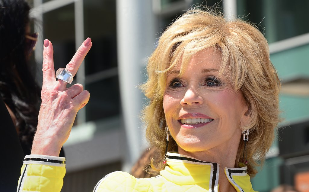 Jane Fonda attended the ceremony.