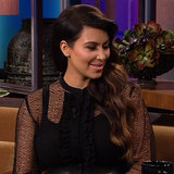 Kim Kardashian Talking Baby Name North on Jay Leno