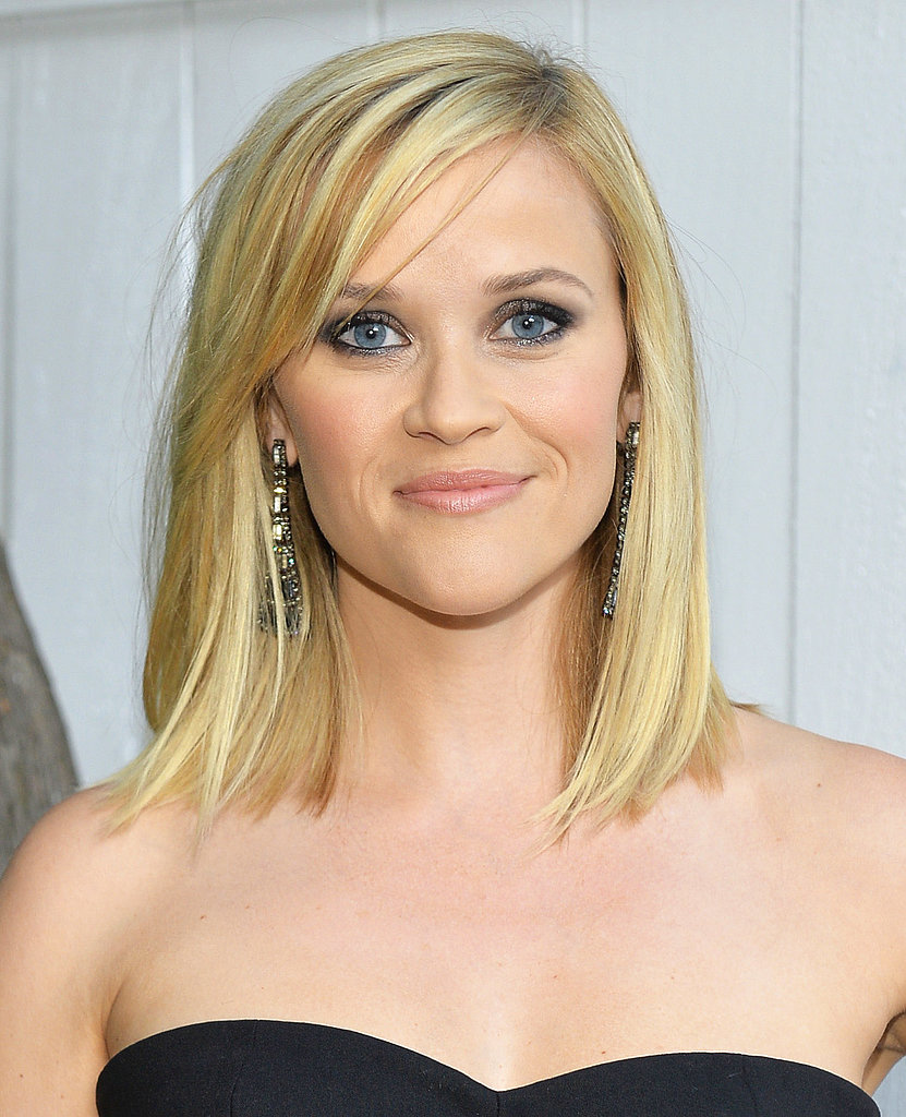 Reese Witherspoon showed off a recent haircut at the LA Dance Project Inaugural Benefit Gala. She paired her sleek look with a soft smoky eye.