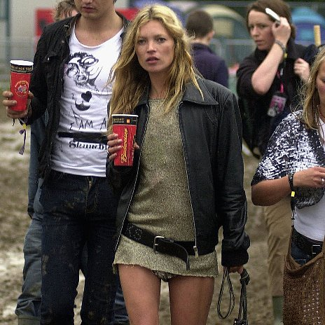 See Kate Moss' Best Glastonbury Festival Fashion Moments
