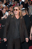 "Brad Pitt revealed Maddox's role in World War Z at the NYC premiere of the film:  ""He's got a small piece in it. He's a zombie who then gets shot. I don't know what that says about my parenting!"""