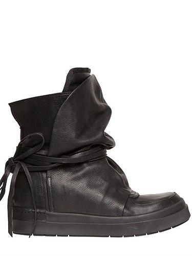 60mm Internal Wedge Calfskin Boots