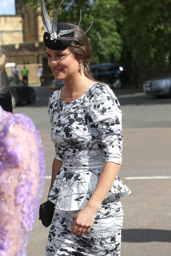 Pippa Middleton arrived as a guest.