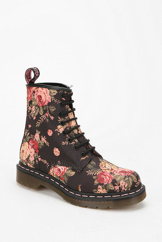Dr. Martens Floral Lace-Up Boot