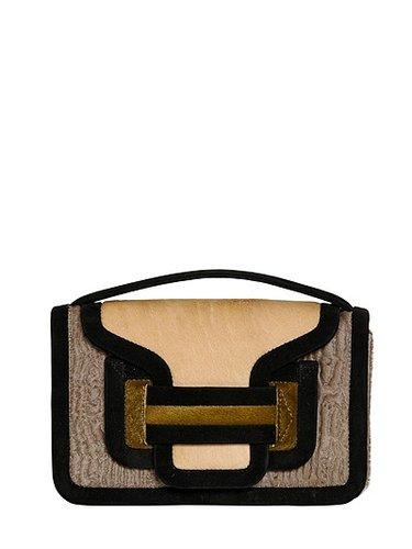Bag 61 Color Blocked Ponyskin Bag