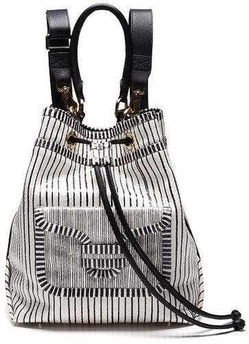 Preorder Pierre Hardy Snake Stripe Backpack