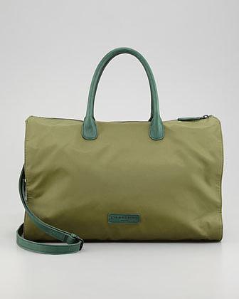 Liebeskind Nylon East-West Tote Bag, Green