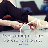 Goethe Motivational Quote