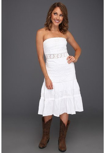 Scully - Cantina Tube Top Summer Dress (White) - Apparel