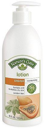 Nature's Gate Moisturizing LotionPapaya