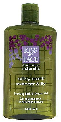 Kiss My Face Silky Soft Soothing Bath and Shower Gel Lavender & Lily