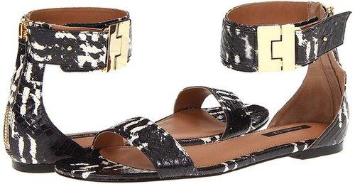 Rachel Zoe - Gladys (Black Graphic Real Snake) - Footwear
