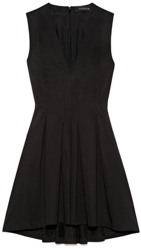 Preorder Thakoon Solid Poplin Seamed Waist Dress