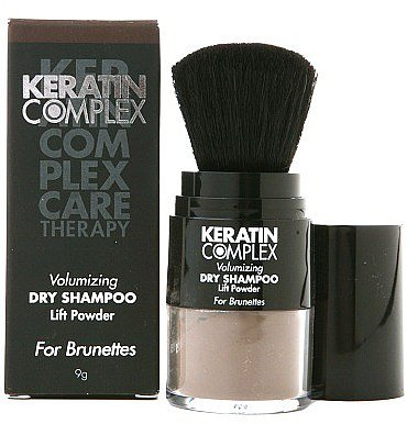 Keratin Complex by Coppola Volumizing Dry Shampoo Lift Powder - For Brunettes