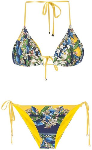 Dolce & Gabbana multi-coloured bikini