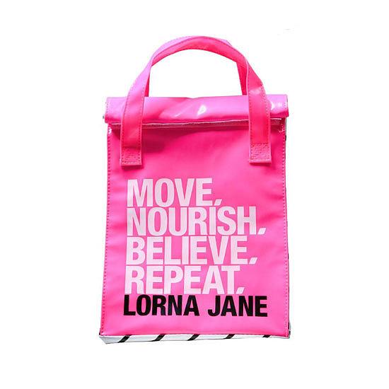 Gym Bag Lorna Jane: Motivational Cooler Bag For Your Healthy Food