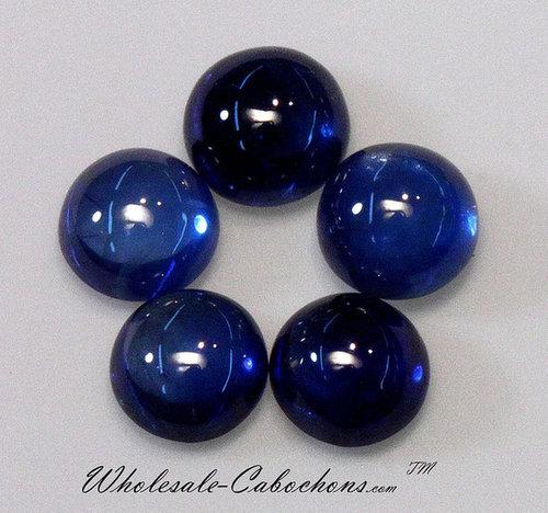 Blue Sapphire Cabochons