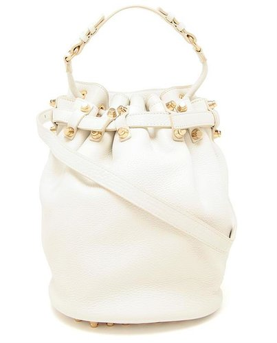 ALEXANDER WANG 'Diego' Blistered Leather Bucket Bag