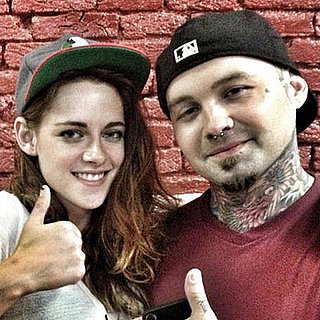 Kristen Stewart Gets a Tattoo