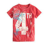 The fireworks won't be the only ones glowing on the Fourth! J.Crew's glow-in-the-dark tee ($30) is superfestive!