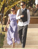 Ashley Tisdale matched the pretty Cabo San Lucas setting in a lilac dress at a wedding in April. Follow suit with feminine hues to be the prettiest guest at your friend's wedding.