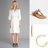 One Piece Five Ways: Isabella Oliver's Una Maternity Shirtdress