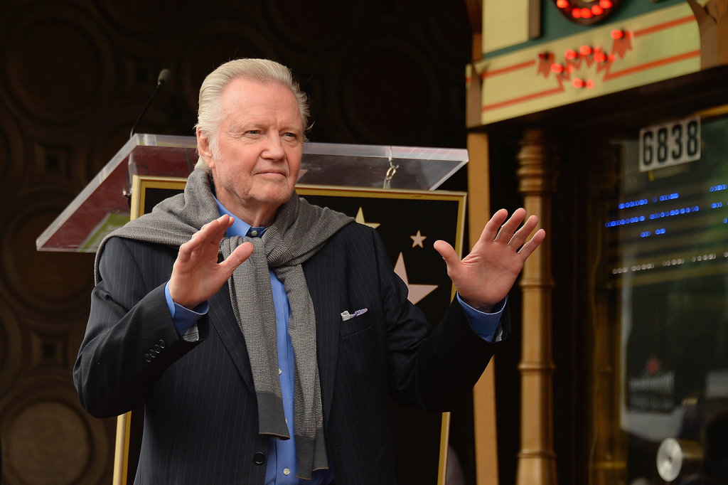 Jon Voight arrived as Jerry Bruckheimer accepted the 2,501st star on the Walk of Fame.