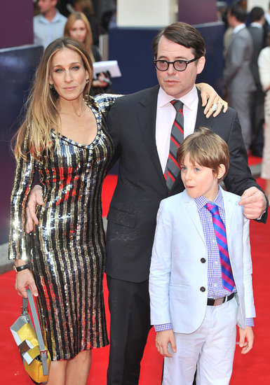 Sarah Jessica Parker, Matthew Broderick, and James Wilkie Broderick hit the red carpet together.