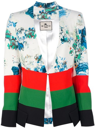 Etro printed silk jacket