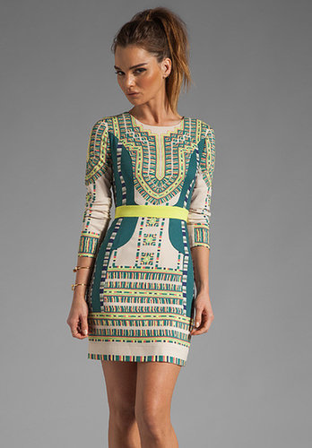 BCBGMAXAZRIA Runway Odette Embroidery Dress