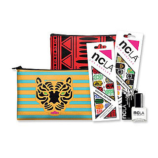 NCLA Nail Art & Clutch Collaboration