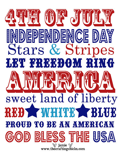 Independence Day Print