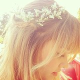 Lauren Conrad shared a dreamy snap of herself wearing a flower crown. Source: Instagram user laurenconrad