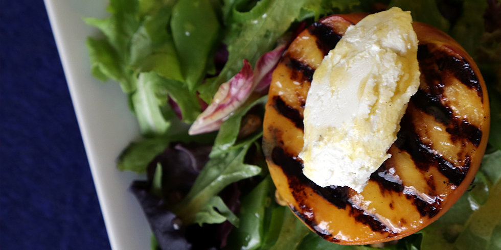 Get Your Grill On For This Grilled Peach Salad
