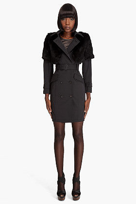 Opening Ceremony Trench With Fur