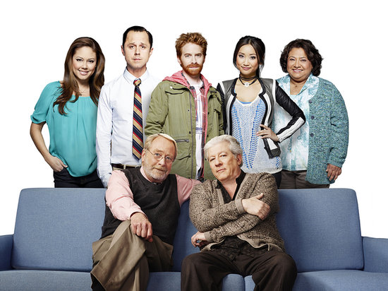 Vanessa Lachey, Giovanni Ribisi, Seth Green, Brenda Strong, Tonita Castro, Peter Riegert, and Martin Mull on Dads.