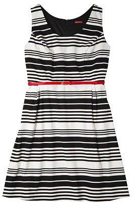 Merona® Women's Plus-Size Refined Dress - Black/White