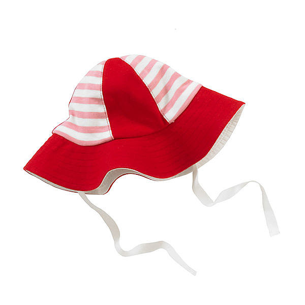 Giggle Striped Sun Hat