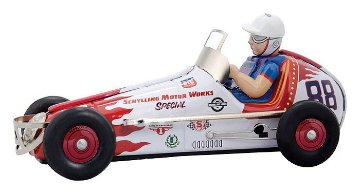 Wind-Up Tin Sprint Racer