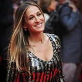 Sarah Jessica Parker Stuns in Sequins and Stripes