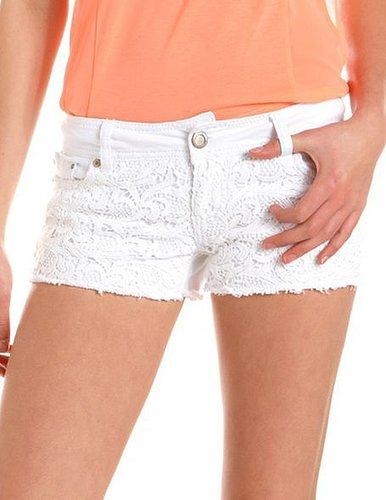 Hot Kiss Crochet Front Short