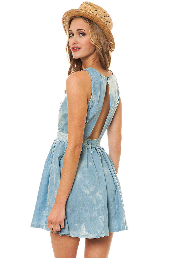 This MKL Collective The Innocent Dress ($36) gives bleached denim a girlie twist.