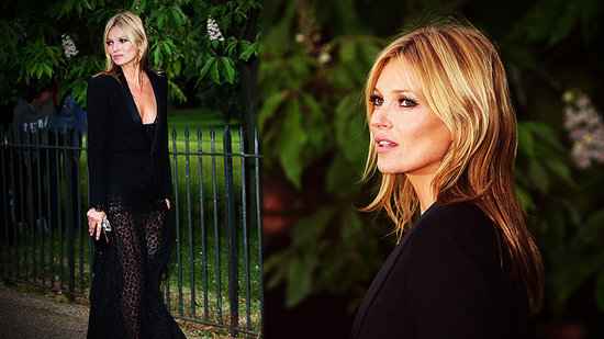 Kate Moss Shows Off Her Sexy Supermodel Party Style in All Black